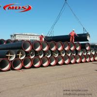 Quality iso2531 di ductile iron pipe k9 weight wholesale