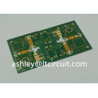 Quality 4 Layer FR4 Polymide Rigid Flexible PCB IC Controller Gold Plating wholesale
