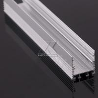 China 16x16 Aluminum Alloy Extrusion Profile , White LED Bar Easy Install 2-5m Length on sale