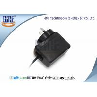 Quality 6V AU Plug Medical Power Adapter AC DC Black 0.5a 50000 Hours MTBF wholesale