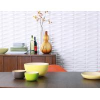 Cheap Thermoform Composite PVC Wall Stencil 3D Wallpaper for Living Room / Office / Club for sale