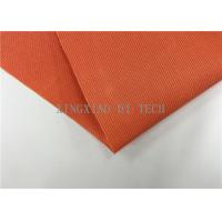 Quality 180 - 200℃ PVC Coated Fiberglass Fabric Flame Resistant Heat Insulation wholesale