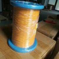 Buy cheap Super Fine Triple Insulated Wire , Min Size 0.16mm Soft Copper Wire For Motor from wholesalers
