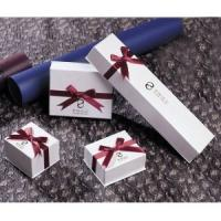 China Small Paper Bracelet Box,  ring and necklace white Jewellery gift Boxes for sale  on sale
