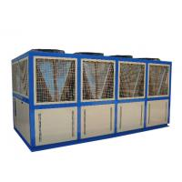 Quality Multi-Functional Air Cooled Screw Chiller With Control Panel For Casting Mould Industry wholesale