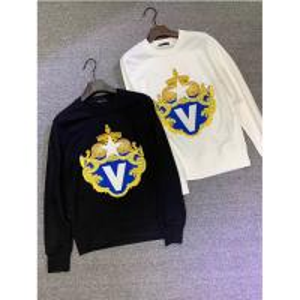 China High Quality Men Hip Hop Embroidered Crewneck Fashion Sweatshirt for Men on sale