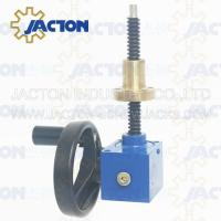 Buy cheap Worm Gear Screw Jacks Type NP I Version B With anti-rotation guide SWL series large assortment screw reducer from wholesalers