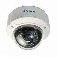 Quality Vandal-resistant Infrared HD IP Dome Camera with 2.8 to 16mm Selective Lens wholesale