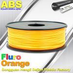 Quality Eco Friendly ABS 3D Printer Filament 1.75mm Fluro Orange 3D Printing Filament wholesale