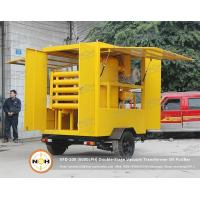 China Ultra High Voltage Transformer Oil Filtration Machine Electrical Insulation Oil Treatment on sale