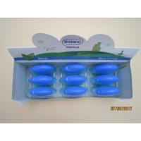 Cheap Refreshing 20g Sugar Free Mint Candy / Vitamin C Tablets Blue Color for sale
