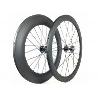 Quality 700C Fixie Flip Flop Rear Wheel Toray 700 With Alloy Black / Red Nipple wholesale