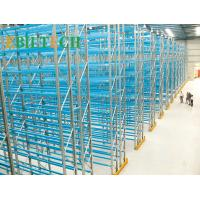 Quality High Strength Warehouse Racking System Metal Racks Spray Painting Surface Treament wholesale