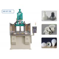 Quality 85T 3 Stations Plastic Injection Moulding Machine 4 Cavities For LED Lamp Housing wholesale