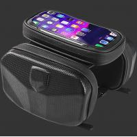 China Cycling Black Bike Hard EVA Case Handlebar Bar Bag Waterproof Touch Screen Phone Box on sale