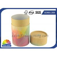 China Custom Made Printed Paper Packaging Tube Round Cardboard Tubes on sale