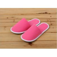 Quality Luxury Indoor Terry Towel Disposable Hotel Slippers For Hotels / Guests Customized wholesale