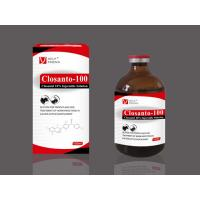Quality animal medicines veterinary products for cattle and sheep Closantel 10% Injection wholesale