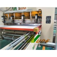 China Auto Short Cycle Lamination Line Melamine Hot Press Machine High Production Capacity on sale