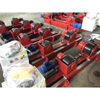 Buy cheap 10T  Lead Screw Conventional Welding Roller Stands, Pressure Vessel Welding Rotator from wholesalers