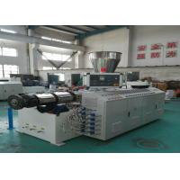 Quality High Capacity 380v 50HZ 3P PVC Pipe Extrusion Line Plastic Pipe Extruding Machine wholesale