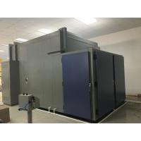 Buy cheap 19m³ double door  walk-in chamber and humidity chamber with Open φ100mm hole in the left side from wholesalers