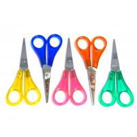 "Quality Childrens Kids Sharp Scissors 130mm (5"") Fun Craft Colours Left or Right Handed wholesale"
