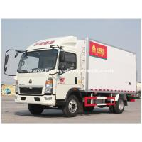 Buy cheap Light Duty 290hp C700 Refrigerated Box Truck With ZF8118 Hydraulic Steering product