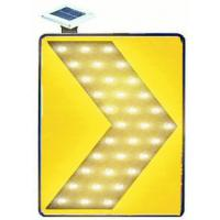 Supper Bright LED Solar Traffic Signs Chevron Light With 3M HI reflective Film