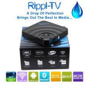 Quality 4K media player android4.4 S802 2GB 8GB tv box Rippl-TV wholesale