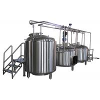 Quality 10BBL Custom Electric All Grain Home Brewing Equipment 100L - 5000L wholesale