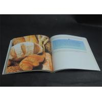 Quality Eco-friendly Bright coloured Cookbook Printing services , Recipe Book Printing wholesale
