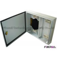 Quality Wall Mounted Waterproof Fiber Optic Termination Box 24 Fibers For Outdoor Use wholesale