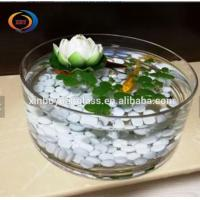 Quality Goldfish Tank Round Gallon Glass Fish Bowl / round shape indoor fish tank wholesale