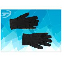 Quality 100% Natural Latex Disposable Hand Gloves / S Size Latex Examination Gloves wholesale