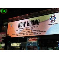 SMD Aluminum Standing Video Advertising Led Billboards Environment Friendly