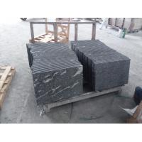 Quality Black With Snow White Natural Stone Slabs Nero Biasca Granite Pavement Stone wholesale