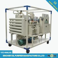 Quality CE Portable Vacuum Decolorizaation Transformer Oil Purifier Machine Remove Water And Impurities wholesale
