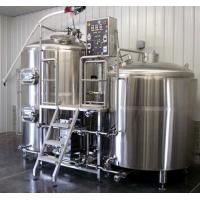 Quality Small Stainless Steel Commercial Beer Brewing Equipment 100L - 5000L wholesale