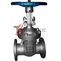 Quality Din Flanged Carbon Steel Gate Valve GS-C25 Metal Seat Hardfaced Half / Full Stellite wholesale