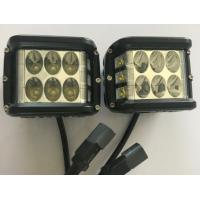 "Quality 45W 4.5"" Square Automotive Led Driving Lights , 6500k Offroad Truck Work Lights 3800 Lumen wholesale"