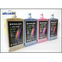 Quality Bright Colors Galaxy Eco Solvent Ink For Frontlit , Backlit , Vinyl , Polyester wholesale