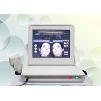 Cheap HIFU High Intensity Focused Ultrasound Machine For Skin Tightening / Facial Lift for sale