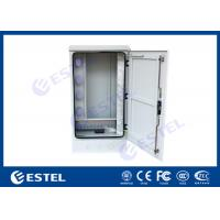 China Outdoor Optical Cable Cross Connection Cabinet Cold Rolled Steel Wall / Floor Mounted on sale