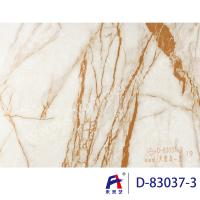 Quality Durbale Marble Grain Pvc Film Roll Suitable Wall Panel Convenient Construction wholesale