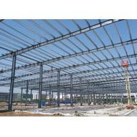Buy cheap Manufacturers prefabricated construction steel structure light frame warehouse from wholesalers