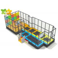 Quality Professional Trampoline Park Equipment Rectangle Bungee For Children Adults wholesale