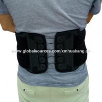 Quality Three Level Back Brace Thoracic Support , Pneumatic Back Brace For Back Pain wholesale