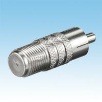 China F Female to RCA Male Adapter on sale