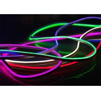 Quality RGB Led Flexible Neon LightsFor Bedroom / Garden PWM Signal Control Style wholesale